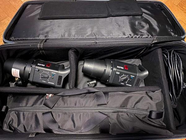 Bowens 2x GM400 studioblixtar med Pocketwizard 3x sändare/mottagare