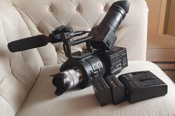 Sony FS700 med massa tillbehör