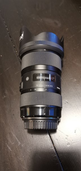 Sigma 18-35mm f/1,8 dc hsm art optik