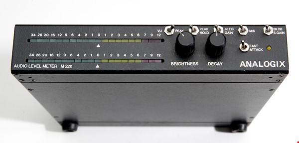 Ljudnivåmätare analog