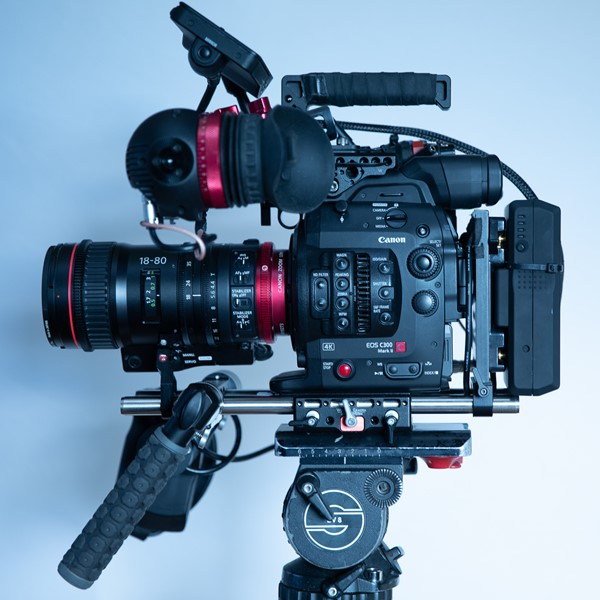 Wooden Camera rig – unified baseplate mm.