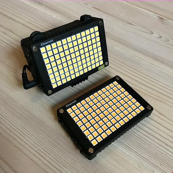 Cineroid L2C-3K5K - LED kameralampa