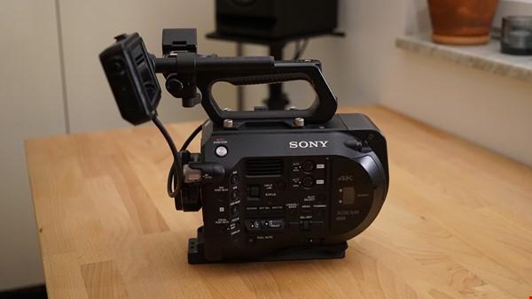 Sony PXW FS7 med speed booster.