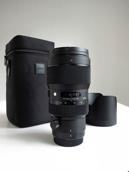Sigma 50-100mm f/1,8 DC HSM Art till Canon