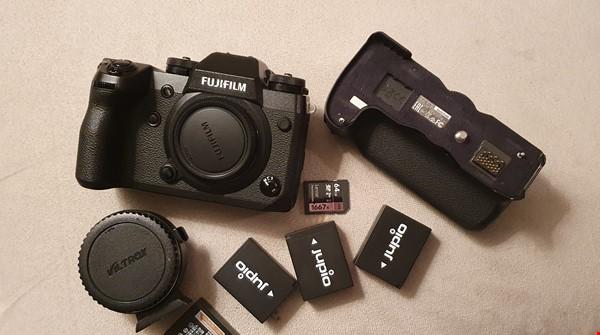 Fujifilm Xh1- batterigrepp och EF adapter mm