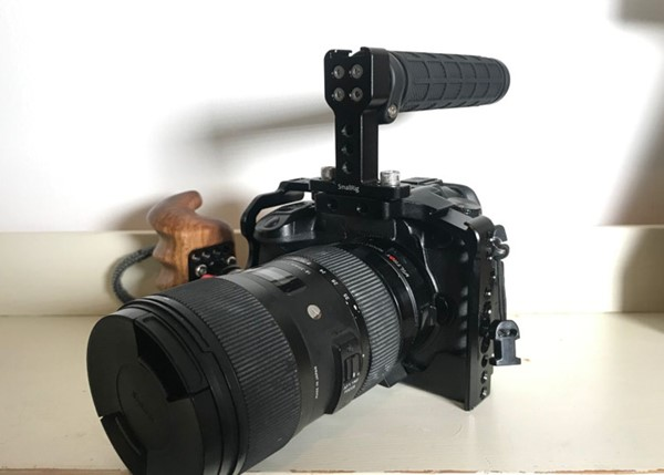 Panasonic GH5 + Sigma 18-35, EF till MFT Metabones Speedbooster XL 0.64 och mer!