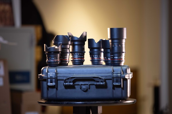 Samyang VDSLR KIT 6 linser -Canon EF