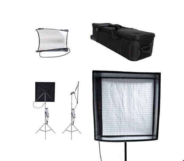Filmljus LED - 3 x FalconEyes