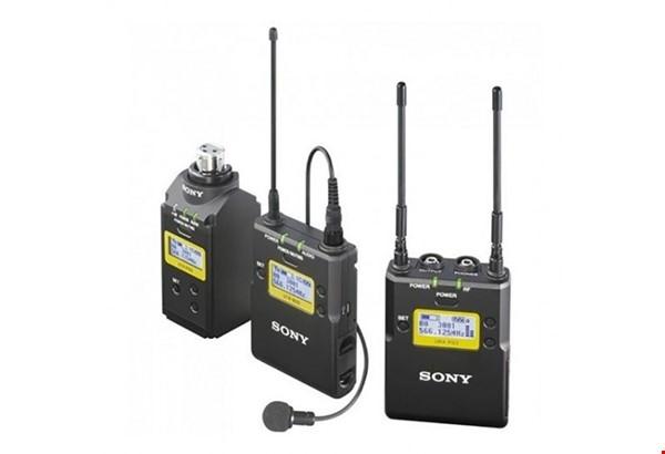 Sony Camera mount Lavalier/ Lapel mic Full Set (UWP-D16/K33 Wireless Audio Set)