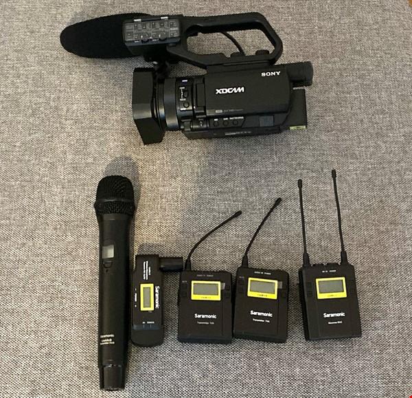 Sony PXW-X70 + ljud paket