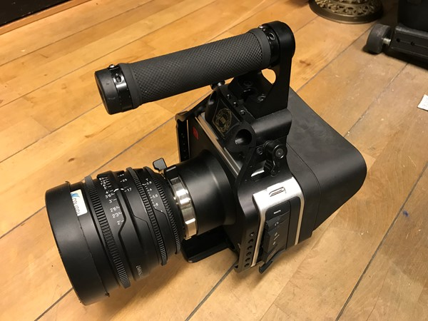Blackmagic Cinema Camera 4k PL-mount + Red Zoom 17-50mm