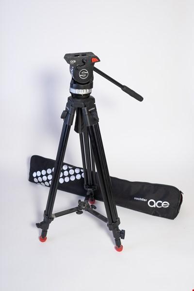 Sachtler Videostativkit System Ace M Mid Level Spread