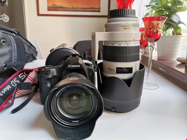 Canon 5D Mark III med väldigt få exponeringar i kanonskick!