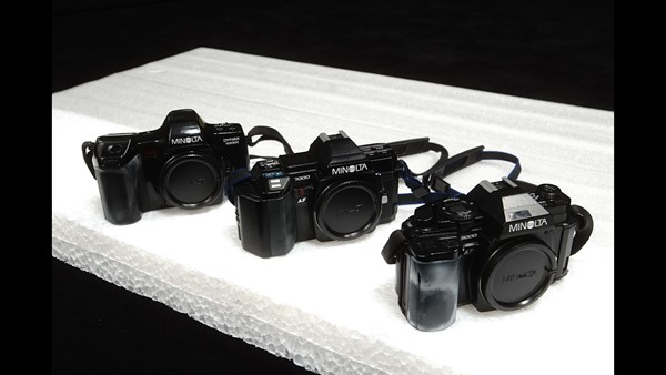 Minolta AF - 3 st kamerahus - (Minolta A/Sony Alpha)