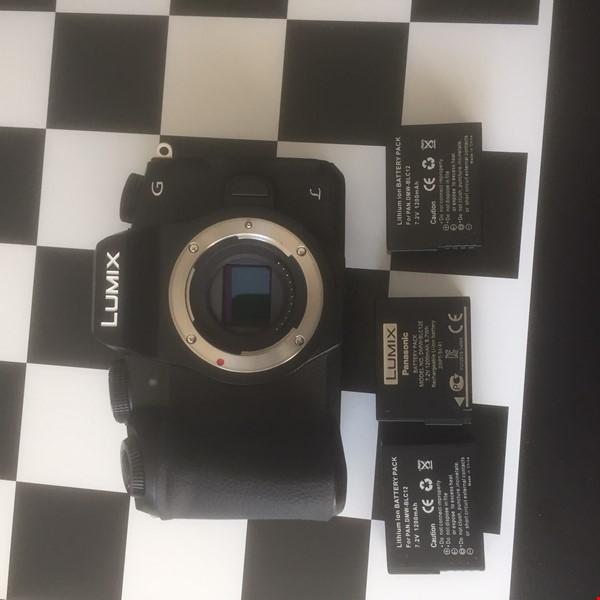 Panasonic G80 4k foto/videokamera