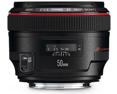 Objektiv Canon 50mm 1.2L proffsklass