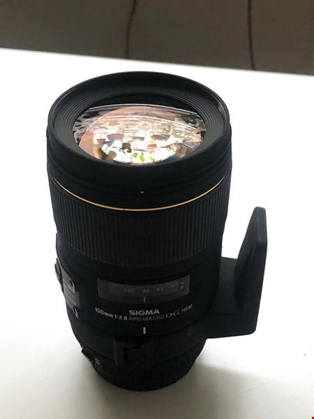 Sigma EX 150mm f/2,8 DG HSM APO Macro Canon EF