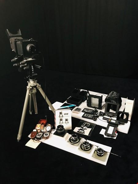 Sinar P2 - storformat, komplett system + optik & massa tillbehör