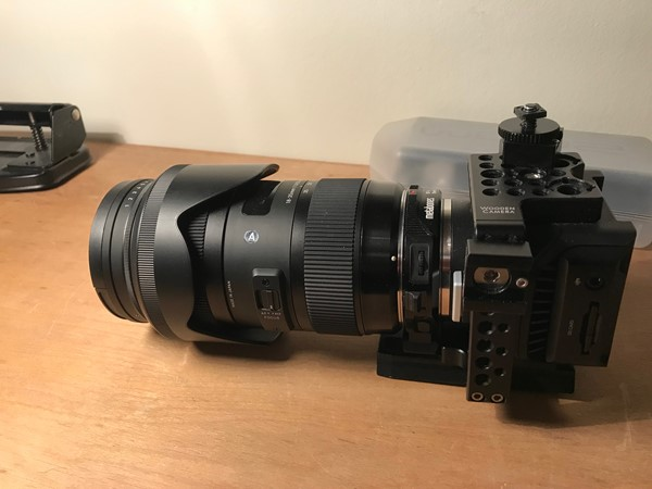 Blackmagic Micro Cinema Camera Package