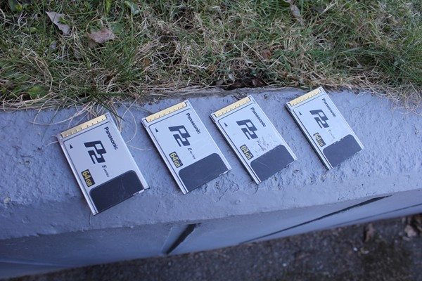 panasonic p2 kort