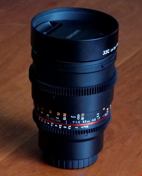 Lens Samyang 85mm T1.5 AS IF UMC VDSLR for Micro Four Thirds