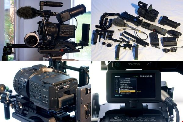 Sony FS700 paket. Klassiker med super-slowmotion och mycket mer