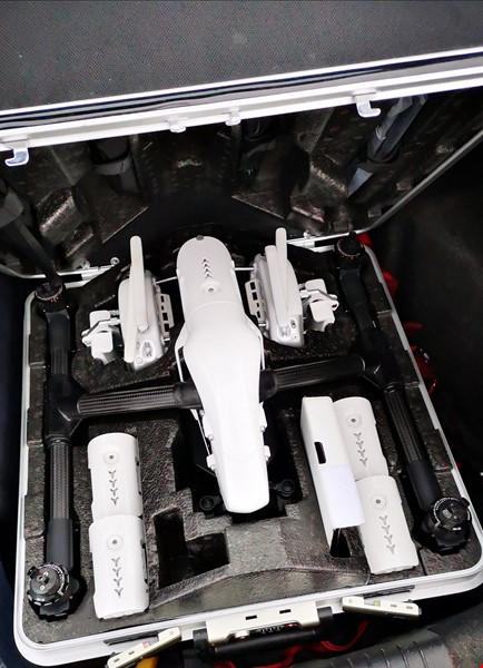 Inspire 1, x5r, med tre objektiv, osmo och fräscha batterier