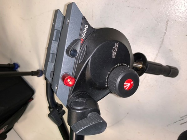 Manfrotto 504HD, endast huvud