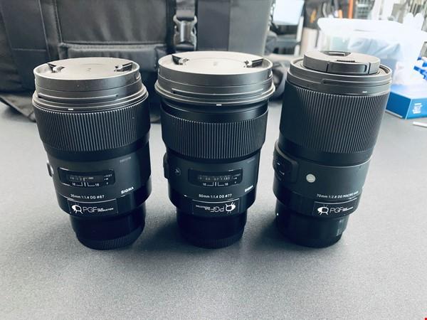 Sigma 35, 50 och 70 mm Sony E-mount