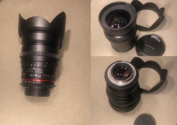 Samyang 35/T1.5