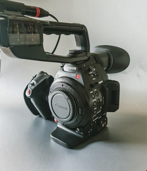 Professionell filmkamera C100 Mk II