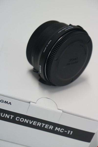 Sigma Konverter MC-11 till Canon EF för Sony FE/E-mount