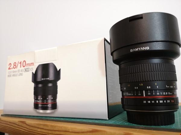 Samyang 10mm F2.8 - Vidvinkelobjektiv EF