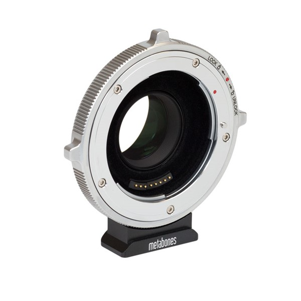 Metabones Adapter CINE Ultra 0.71x, för Canon EF-objektiv på Black Magic BMPCC4K