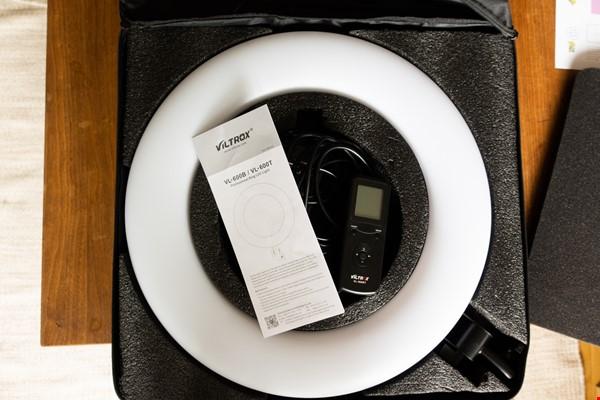 Viltrox VL-600 ring-LED