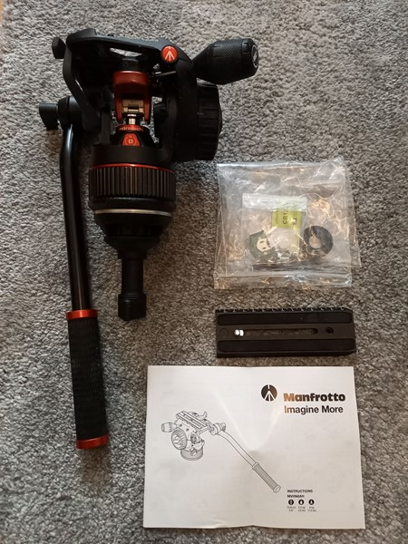 Manfrotto Nitrotech N8 Videohuvud.