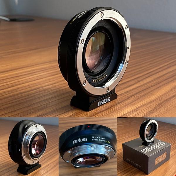 Metabones Canon EF till Sony E-Mount Speed Booster Ultra 0.71x