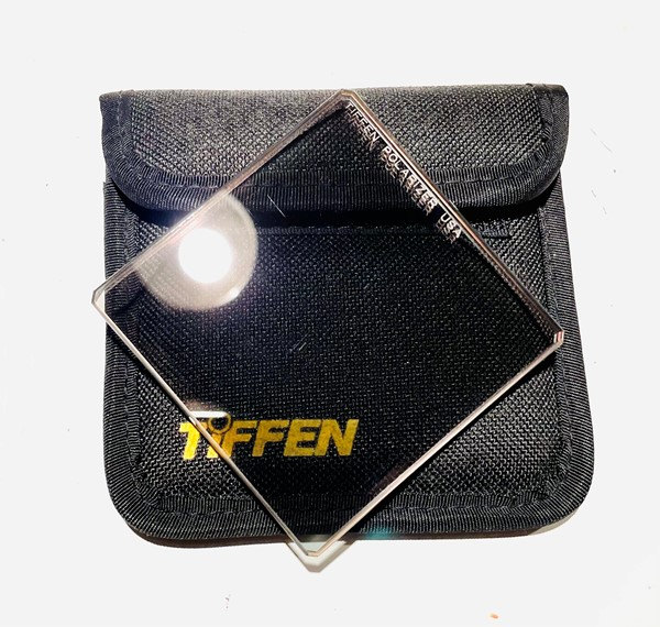 Tiffen Polarizer filter 3x3""