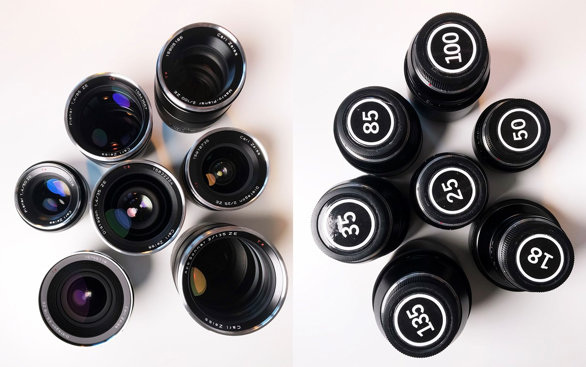 Zeiss ZE Primeserie för Canon