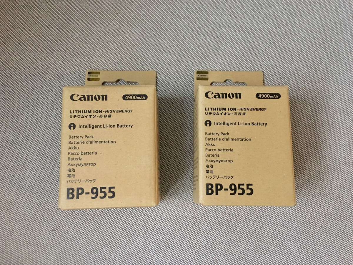"2 Helt nya Canon BP-955  ""oöppnad"""
