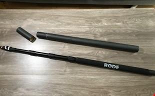 Microphone Boom 3 meter RODE oanvänd