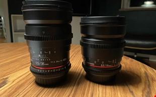 Samyang 35mm t1.5 och 16mm t2.2 till EF