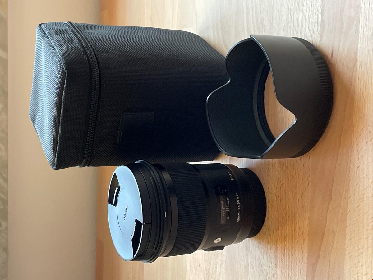 Sigma art 50mm 1,4 EF