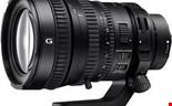 Sony FE PZ 28-135/4 G OSS, Sony E-fattning (fullformat)