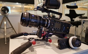 Sony F55 med Zeiss zoom 28-80mm, RAW recorder mm
