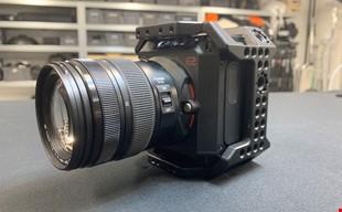 Z Cam E2 4K Micro 4/3 samt Panasonic Lumix 12-35 mm 2.8