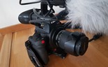 Canon C100 Mark II med extrabatteri NYSKICK
