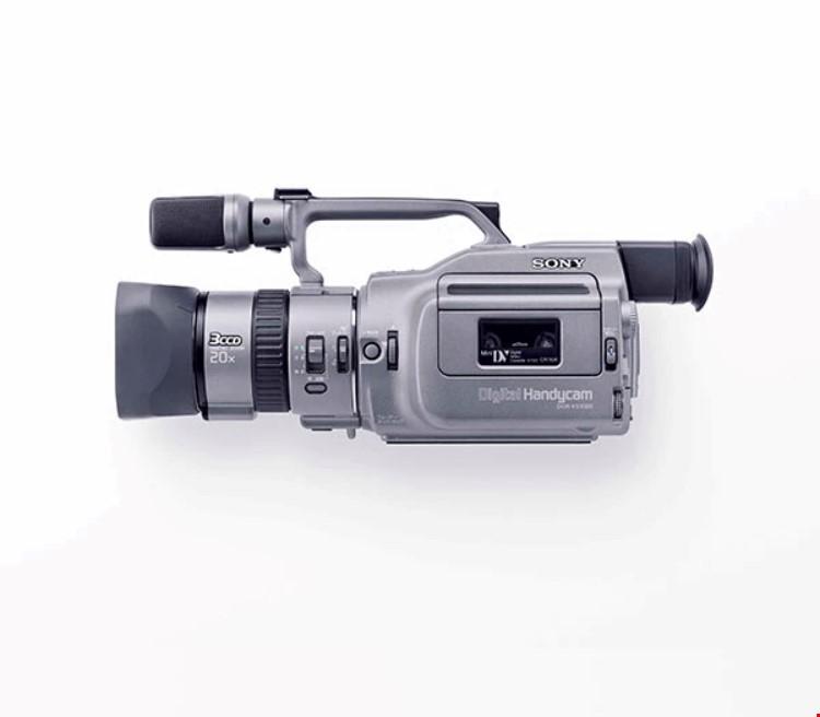 Sony Dcr vx1000 eller liknade kamera