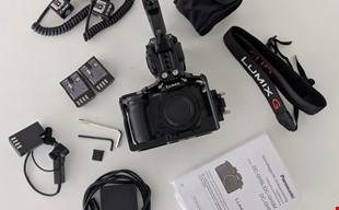 Panasonic Lumix DC-GH5 med tillbehör