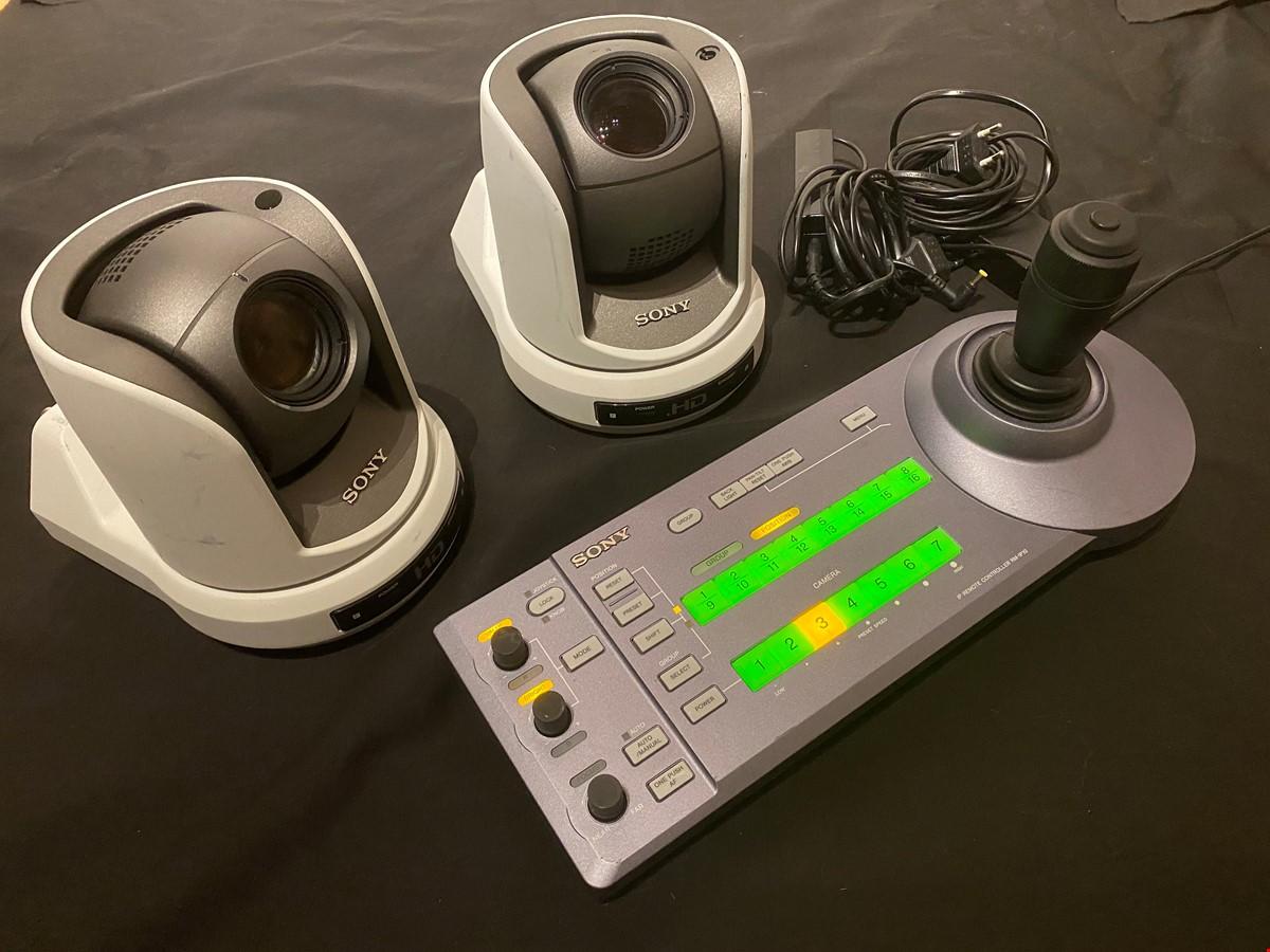Sony BRC z330 Remotekameror med SDI/IP-kort + styrpanel RM-IP10